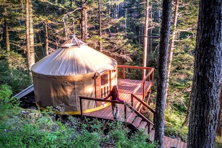 Oceanfront Yurt with Boat Tour #2 - Jurta