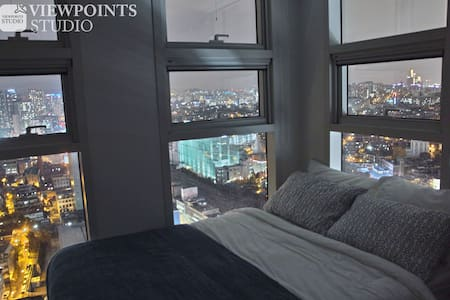 9 Seoul Sta. Free GYM Best View~ - Yongsan-gu - Apartment