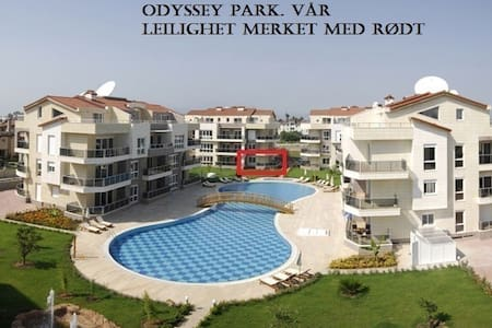 Odyssey Park Residence, Belek. - Belek - Lägenhet