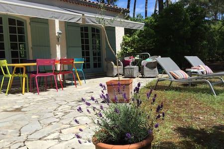 Villa lumineuse et colorée à l'Herbe - Lege-Cap-Ferret - Villa