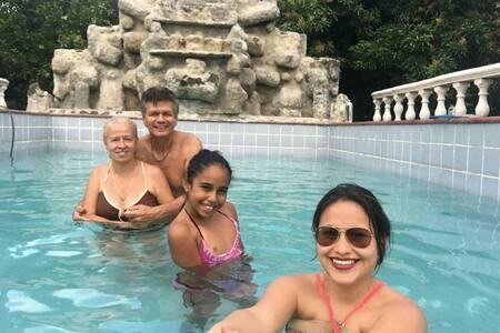 Casa Campestre con piscina privada - Ház