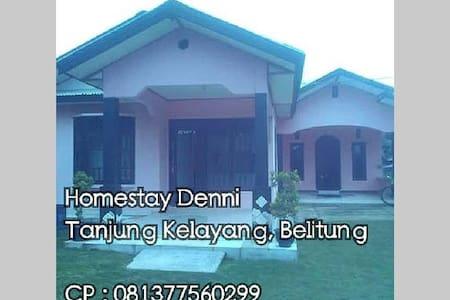 Homestay Denni Denis - Tanjung Pandan - Rumah
