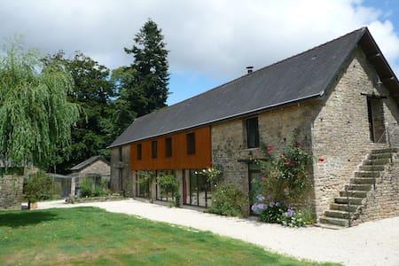 La Longère du Manoir de Coët Diquel - Bubry - Hus