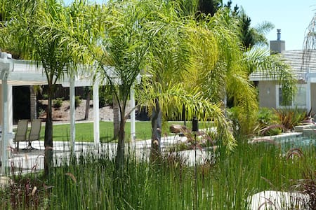 1,000 SF Pool House on a Spacious Quiet Oasis Lot - Oceanside - Haus