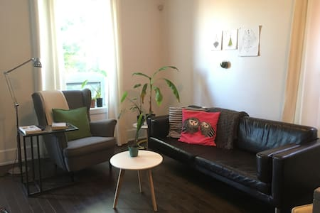 Spacious, light-filled apartment - Daire