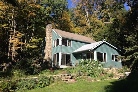 Historic wooded 3BD 1 hour from NYC - House