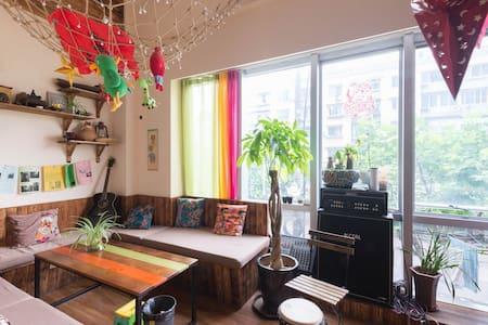 四人间80cm上下铺床位(一个床位价格) - Apartment