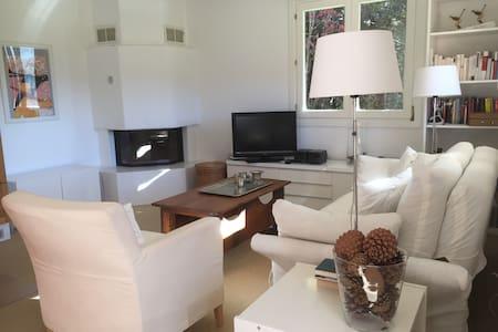Gemütliche 3.5 Zimmerwohnung in Valbella - Valbella - Apartemen