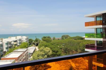 Wonderfull Condo Seaview 200m Beach - Lejlighed