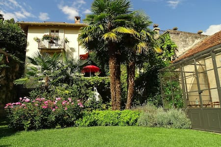 Lago Maggiore. Historic Villa with private garden - Huvila