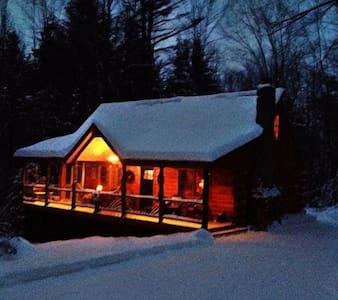 Auskerada Lodge. Seclusion&Jacuzzi - Caroga Lake