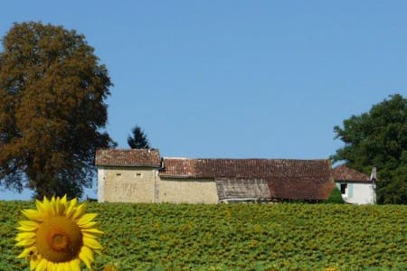 Tastefully Renovated Barn with Pool - Verteillac - Other