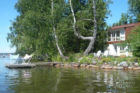 Kesäpaikka saaressa Vesijärvellä, tie perille. - Lahti - Casa