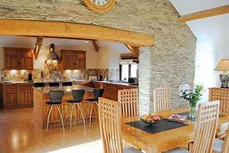 STUNNING BARN CONVERSION IN THE SOUTH HAMS - Casa