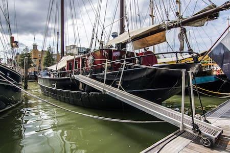 Historic Sail Boat in City-Centre - Rotterdam