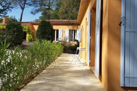 Deux Mas d'exception de style contemporain - Lorgues - Villa