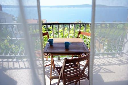 True holiday- sea view apartment A2 - Zavala - Leilighet
