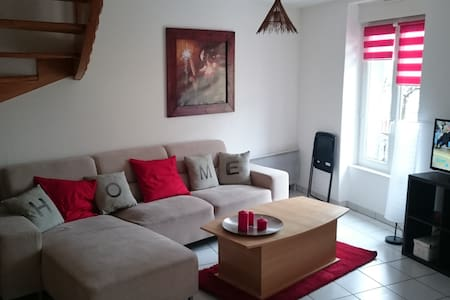 T3 54m2 en Duplex en plein centre - La Bourboule - Apartment