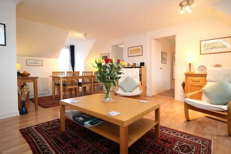 Cosy double or twin in spacious flat, great Wifi - Apartamento