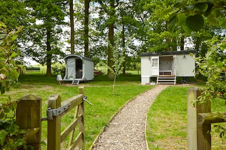 Shepherds huts in picturesque countryside location - Upper Shuckburgh - Pondok