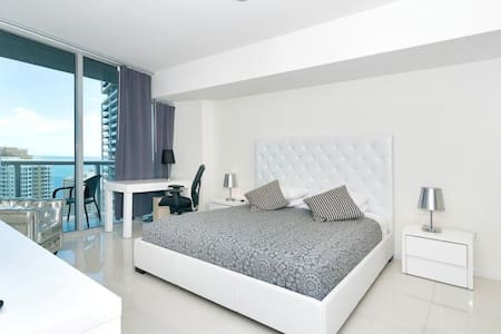 Waterfront Luxury 1 Bedroom W Hotel Brickell - Appartement en résidence