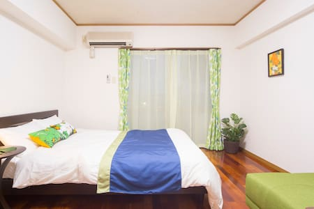 $60 3 people, near Naha Airport - Apartment