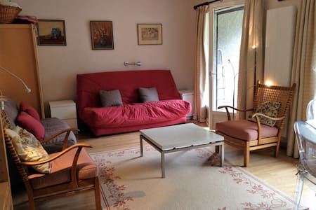 Charming studio near lake - Thollon-les-Mémises - Appartement