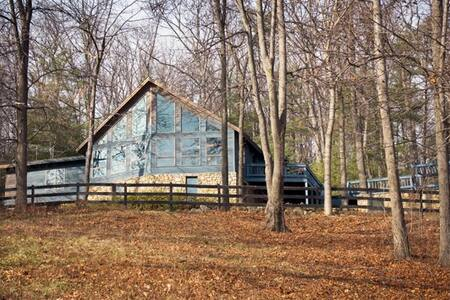 Rustic, Luxurious Old Rag Lodge on 60 acres - Maison