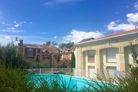 Bel appartement dans résidence type manoir - Ortak mülk