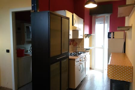 10min metro far from Central St sunny + terrace - Mailand