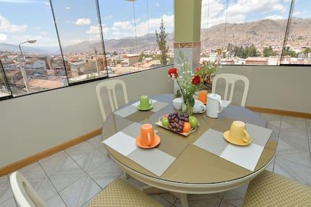 Centric 3BR with Wonderful view - Cusco - Apartemen