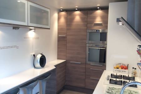 DELUXE room 3 new flat near Paris - Daire