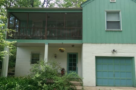 Lake Michigan 3-bedroom tree house in Miller beach - Haus