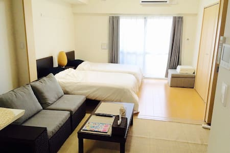 ♣ ︎ 2016 years OPEN !! New♣ ︎Wi-Fi Free♪ - 那覇市 - Appartement