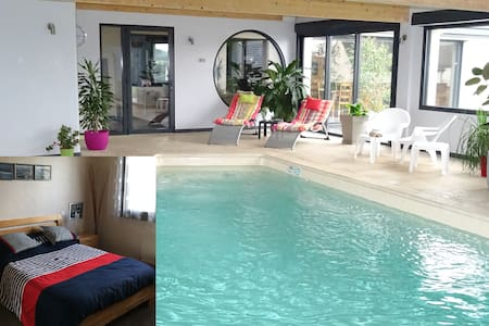 Chambre3,piscine,billard,fitness J - Dernancourt