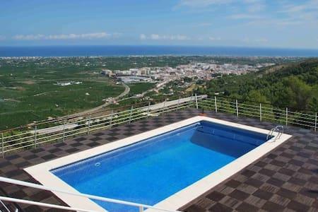 Hermosa casa con espectaculares vistas. - La Font d'en Carròs - Villa