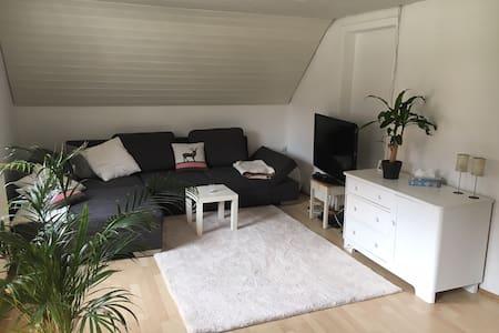 Schöne ruhige 2-Zi.-Wohnung am Rande der Altstadt - Apartamento