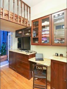 Cozy Micro Loft Studio-Best Location-Marble Bath