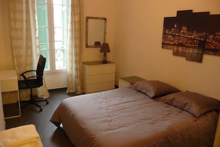 Chambre dans un bel appartement à la Joliette. - Marsiglia - Appartamento