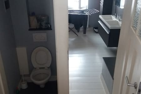 Beautiful room close to the Flagey square - Ixelles - Lejlighed
