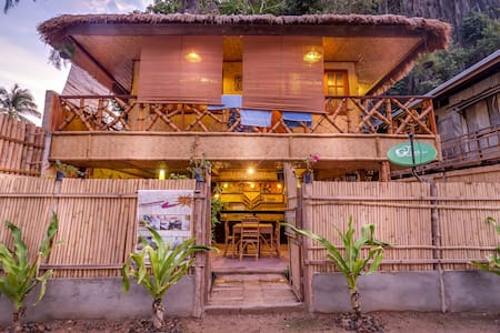 CED Pension Room #5 - Big Bunk in a Bahay Kubo - Bed & Breakfast