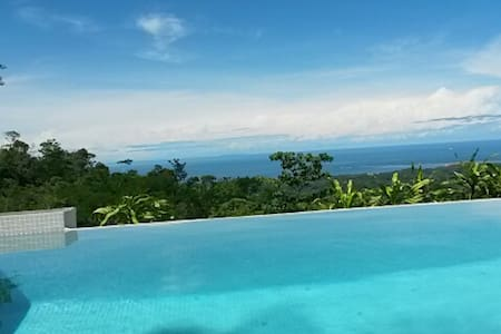 Eco Retreat-Oceanview w/ New Infinity Plunge Pool - Uvita - Casa
