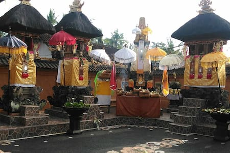 Unique balinese style homestay 2 - Haus