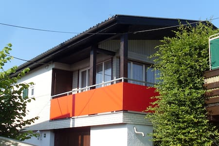 Gemütliches Ferienhaus mit Balkon am Bodensee - Apartment
