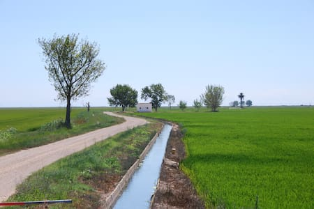 Acogedor piso con piscina en el Delta del Ebro - Flat