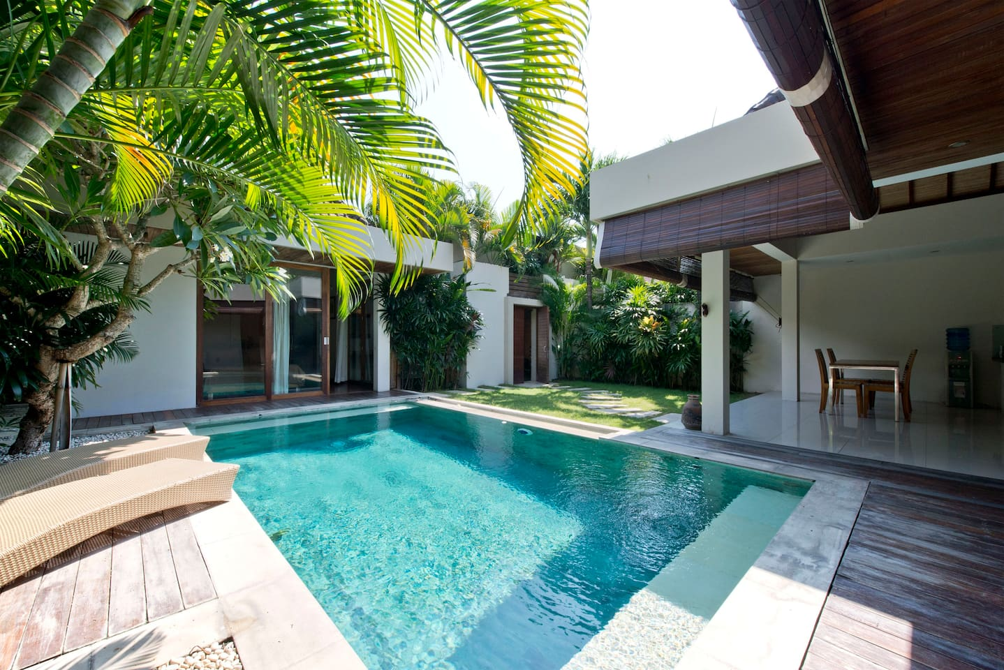 Swimming Pool With Garden.