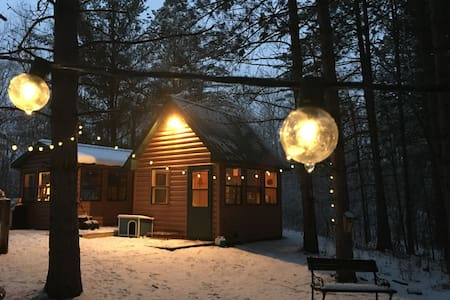 Remote Woods Tiny Cabins Retreat!