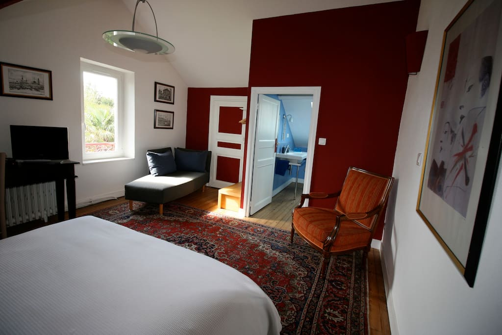 Chambre d 39 h tes biarritz r bed breakfasts louer for Chambre d hote biarritz