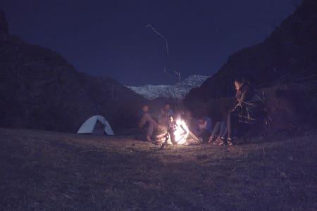 BHAGDA CAMPSITE | 2500/- INR PER HEAD - Çadır