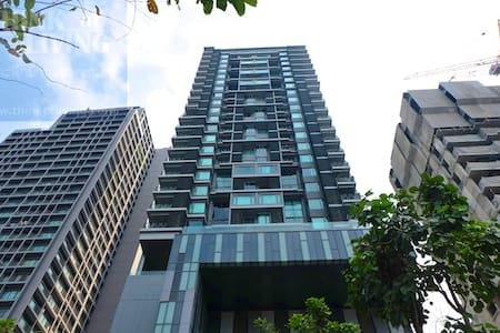 57sqm1Bedroom/pool/gym/Thonglo BTS/carpark - Bangkok - Wohnung